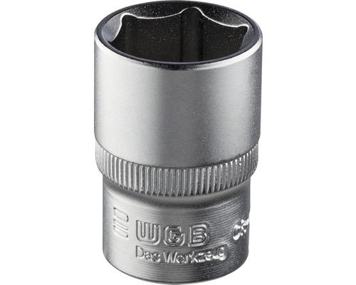 "WGB Sexkanthylsa 3/4"" med stiftsäkring 36 mm"