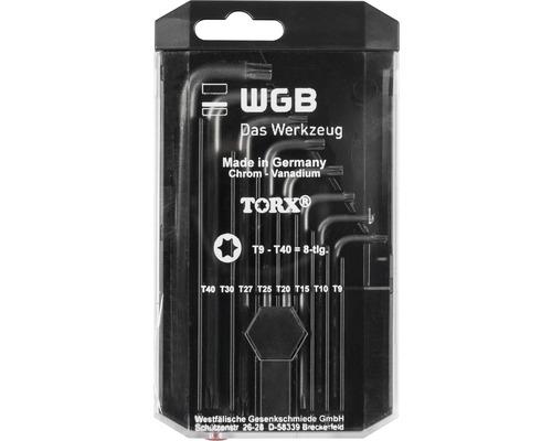 WGB Nyckelsats Torx 8 delar