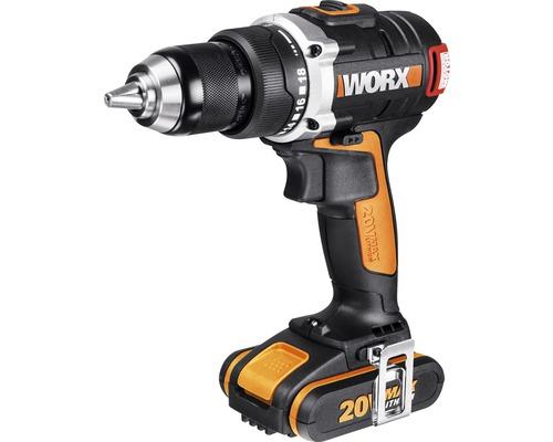 Skruvdragare WORX WX175, 20 V Li (2,0 Ah), inkl. 2 batterier
