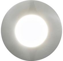 Downlight EGLO Margo LED IP65 5W inkl. ljuskälla 350lm 3000K stål
