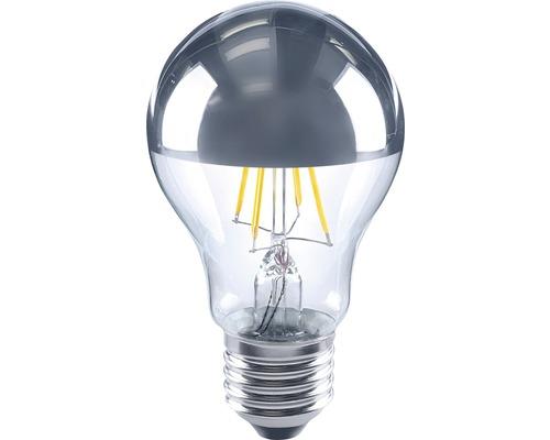 FLAIR LED toppförspeglad lampa A60 Filament silver E27/4W(35W) 400 lm 2700 K varmvit