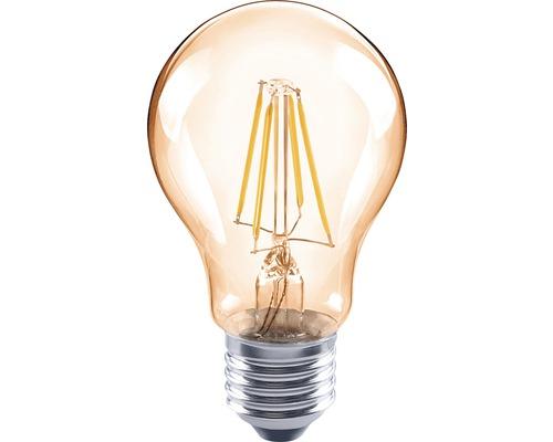 FLAIR LED-lampa A60 Filament amber E27/4W(35W) 400 lm 2000 K varmvit