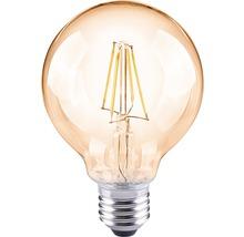 FLAIR LED-klotlampa G80 Filament amber E27/4W(35W) 400 lm 2000 K varmvit