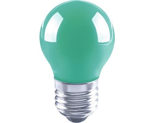 Klotlampa FLAIR LED 3W E27 G45 filament grön