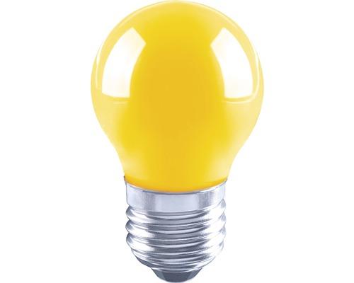Klotlampa FLAIR LED 3W E27 G45 filament gul
