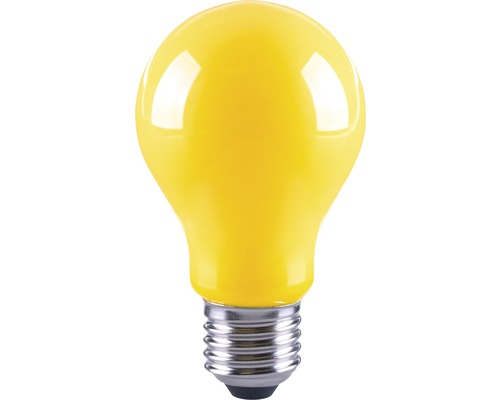 FLAIR LED-lampa A60 Filament gul E27/4W