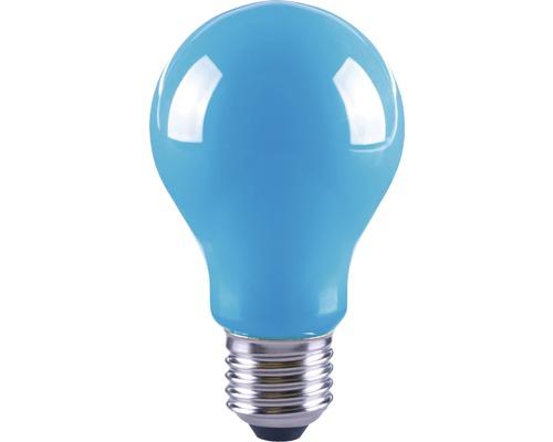 FLAIR LED-lampa A60 Filament blå E27/4W