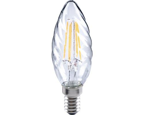 FLAIR LED kronljus CT 35 snurrad Filament klar E14/4W(35W) 420 lm 2700 K varmvit