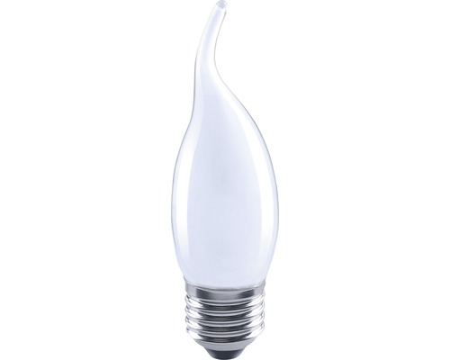 FLAIR LED kronljus CL35 böjd Filament matt E27/4W(35W) 420 lm 2700 K varmvit
