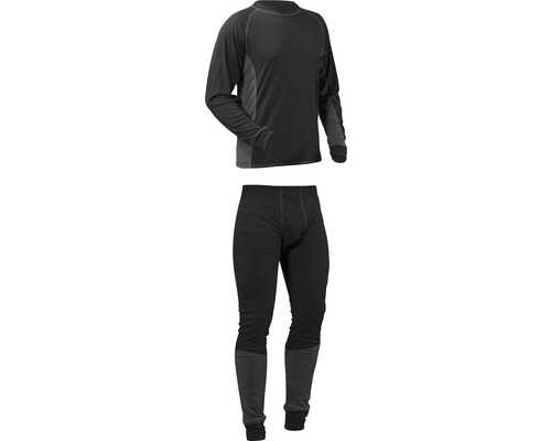 Underställ BLÅKLÄDER lightweight set svart/grå L