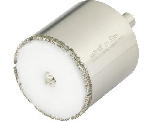 Hålsåg WOLFCRAFT Ceramic Diamant Ø 53mm inkl. skaft och centrumborr