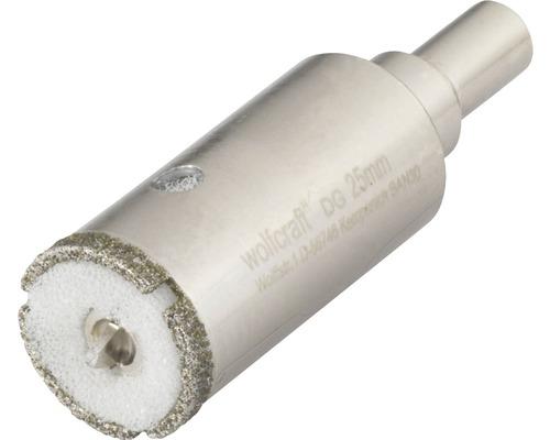 Hålsåg WOLFCRAFT Ceramic Diamant Ø 25mm inkl. skaft och centrumborr