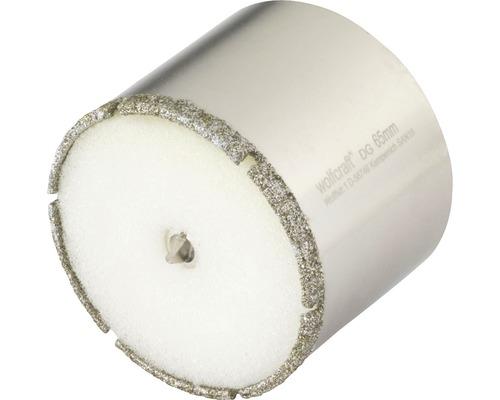 Hålsåg WOLFCRAFT Ceramic Diamant Ø 65mm inkl. skaft och centrumborr