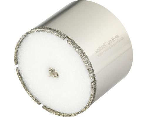 Hålsåg WOLFCRAFT Ceramic Diamant Ø 68mm inkl. skaft och centrumborr