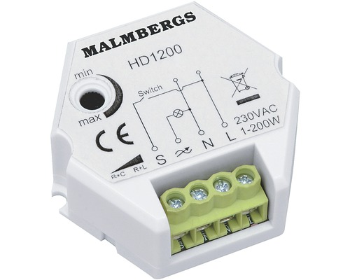 Dosdimmer MALMBERGS 1-200 W