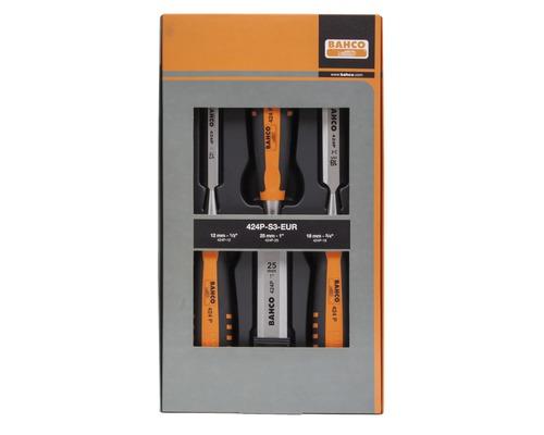 BAHCO Stämjärnsats 3 delar 12-18-25 mm