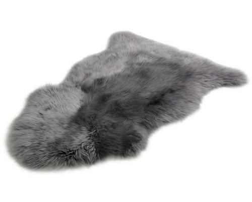 Fårskinn mörkgrå 60x90 cm