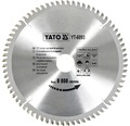 Cirkelsågklinga YATO HM 210x3,0x30mm 72 T