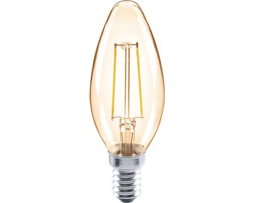 FLAIR LED kronljus CL35C amber E14/2W(26W) 180 lm 2000 K varmvit