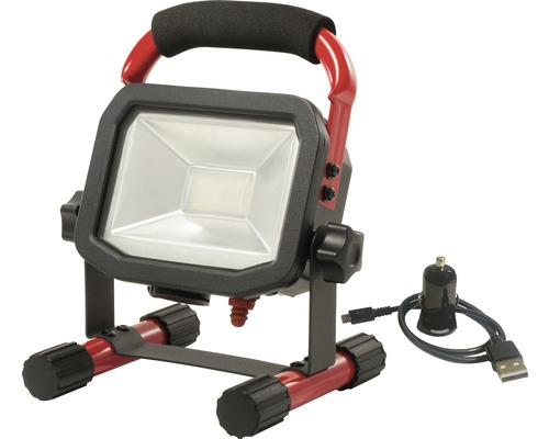 Arbetsbelysning Worklight med batteri 10 W