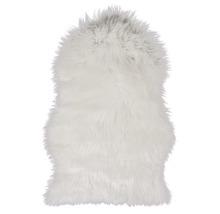 Fäll får syntet vit 55x80 cm